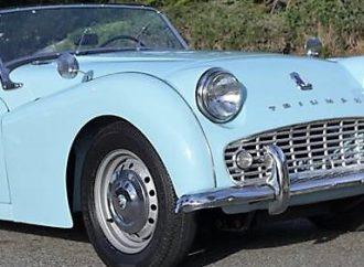 1961 Triumph TR3A roadster