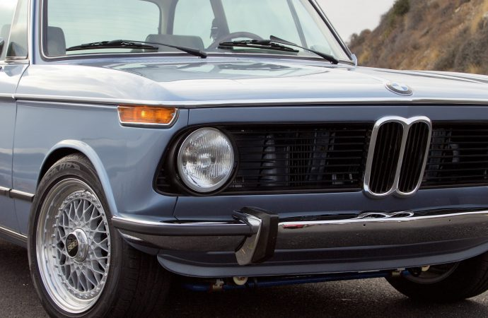BMW restored by Clarion to benefit Barrett-Jackson cancer fund