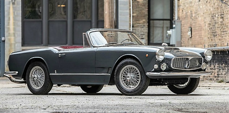 The 1960 Maserati 3500 GT Spyder at Bonhamst sold for a strong $880,000 | Bonhams