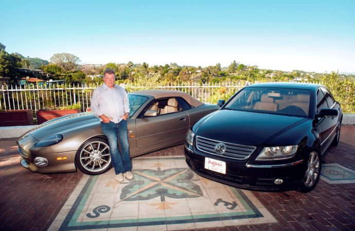 'Captain Kirk' offers two cars at Palm Beach auction