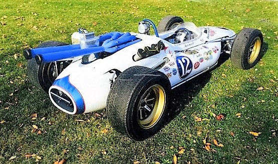 The Brawner Hawk is powered by a DOHC Ford V8 | Amelia Island Concours