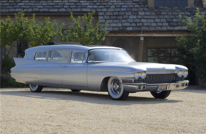 Countdown to Barrett-Jackson Palm Beach 2016: 1960 Cadillac Fleetwood 'Thundertaker' custom limo