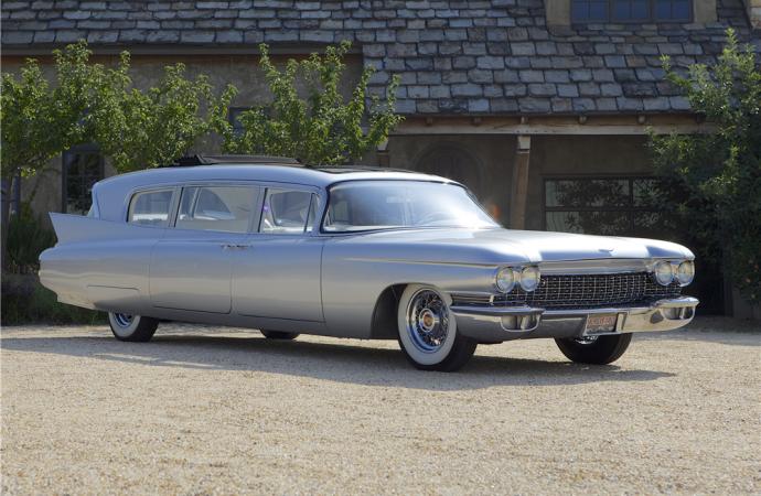 Countdown to Barrett-Jackson Palm Beach 2016: 1960 Cadillac Fleetwood 'Thundertaker' custom limo