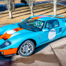 Countdown to Barrett-Jackson Palm Beach 2016: 2006 Heritage Edition Ford GT