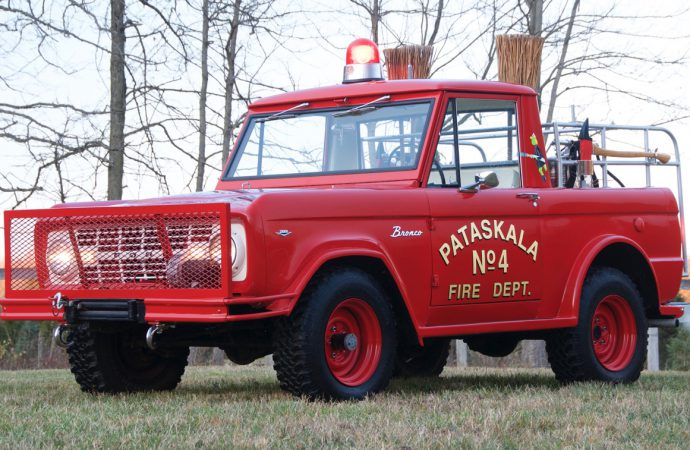 Vintage fire-fighting equipment featured at Charlotte AutoFair