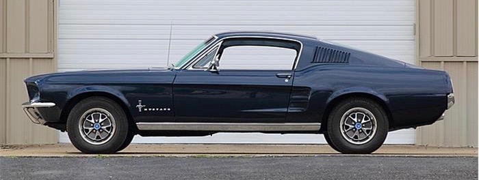 1967 Ford Mustang fastback | photo courtesy Mecum Auctions
