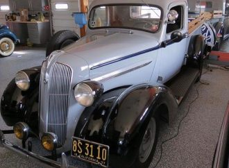 1937 Plymouth PT-50 pickup truck