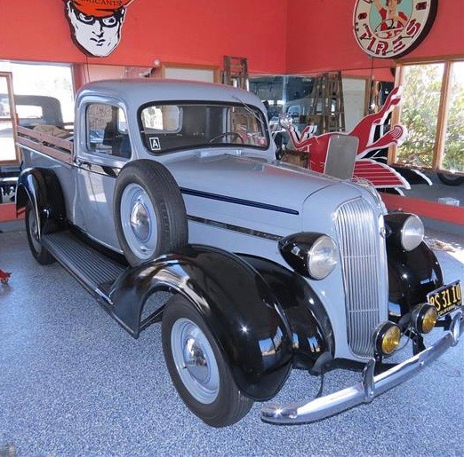 1937 Plymouth PT-50 appears to be in show-ready condition