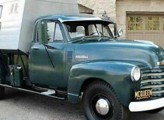 Steve McQueen's 1952 Chevrolet camper