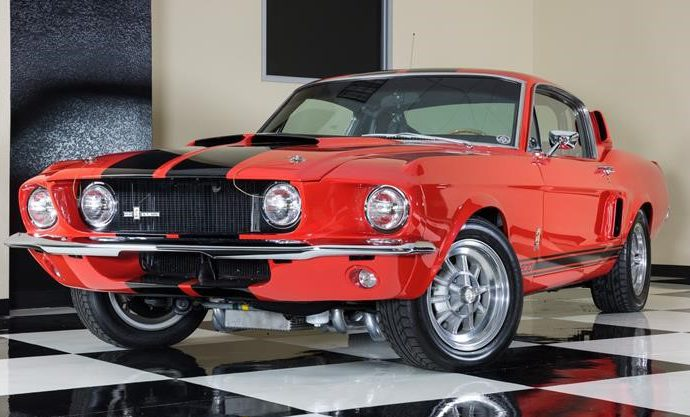 "1967 Shelby ""Red Rocker"" Mustang GT500"