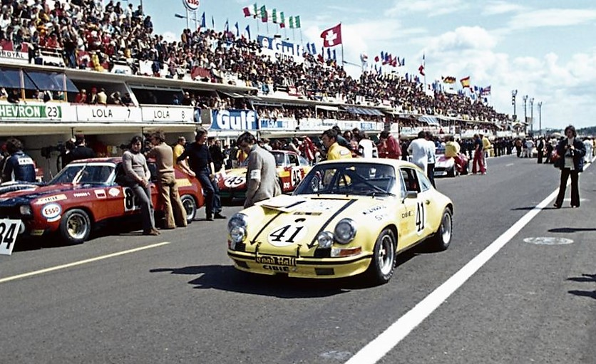 The Porsche 911 at Le Mans in 1972 | Porsche Classic archive