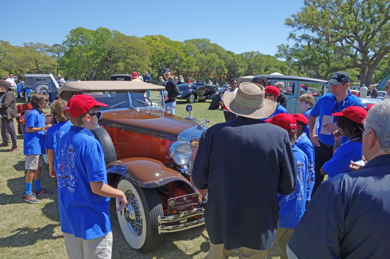 The scene at the Kiawah Island Motoring Retreat concours d'elegance | Andy Reid photos