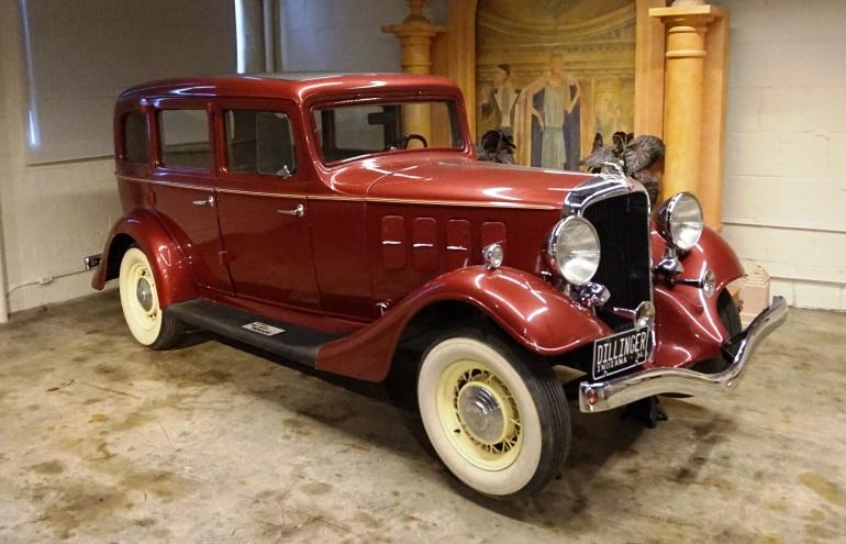 Dillinger 1933 Essex Terraplane