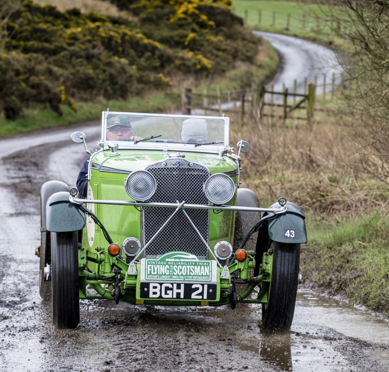 The winning 1931 Talbot 105 Alpine