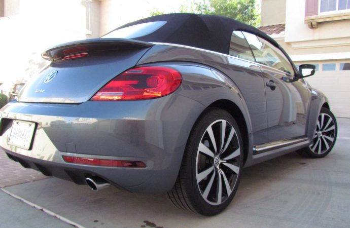Driven: 2016 Volkswagen Beetle convertible