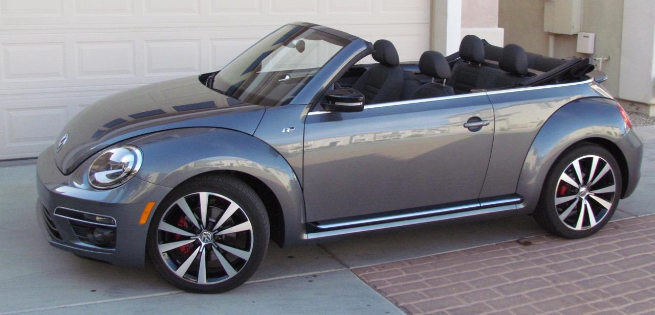 2016 Volkswagen Beetle R-line SEL convertible