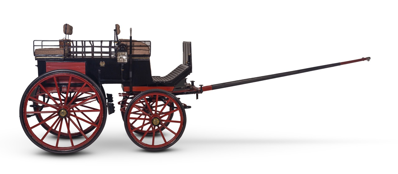 Horse-drawn carriage by Kellner