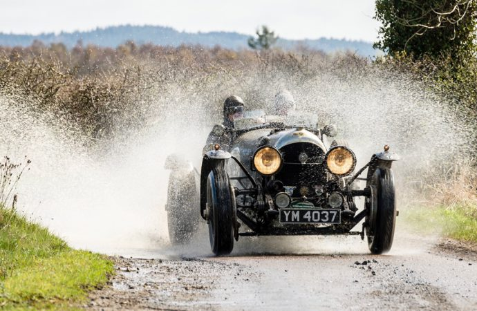 1931 Talbot 105 Alpine wins Flying Scotsman vintage rally