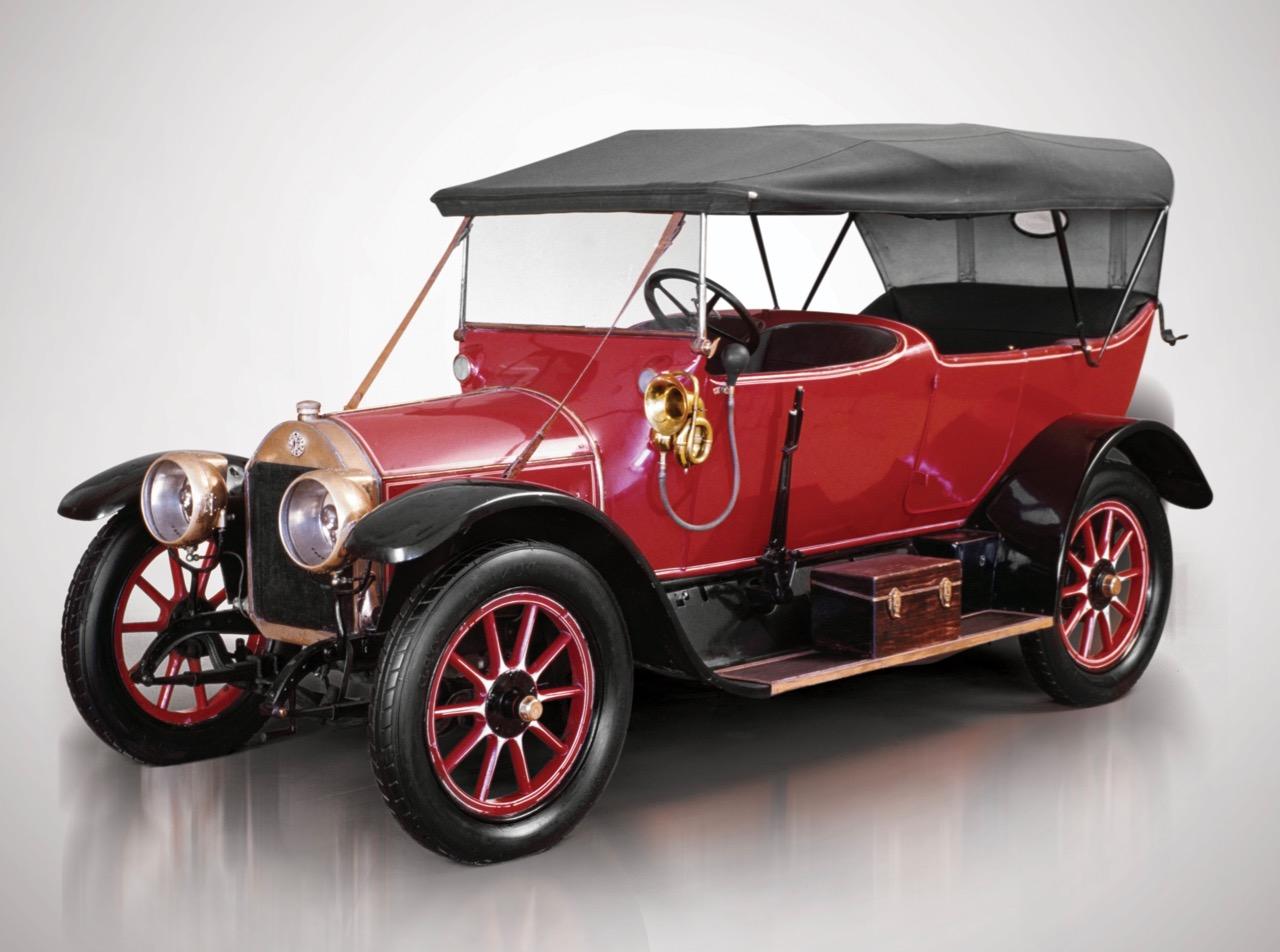 1922 Lancia Lambda 1st series torpedo