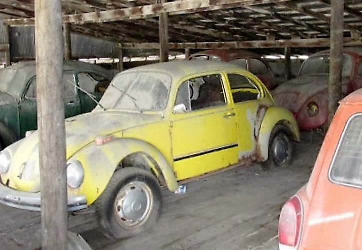 The 25 Volkswagens And Hundreds Of Parts Were Stored For Decades