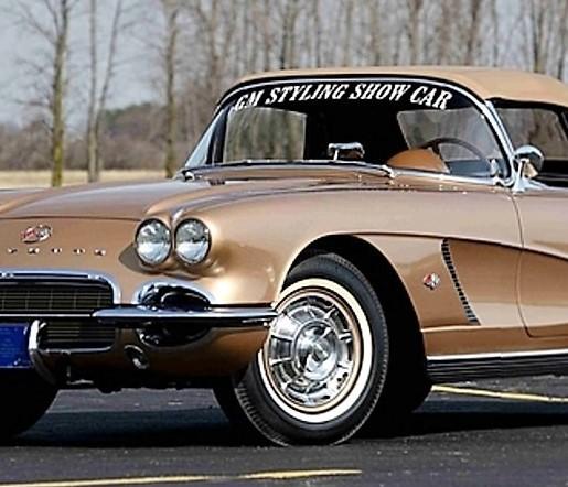 Unique 'Gold Corvette' headed for Mecum's Indy auction
