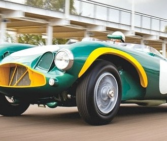 Movie-star race car Aston Martin in Bonhams auction