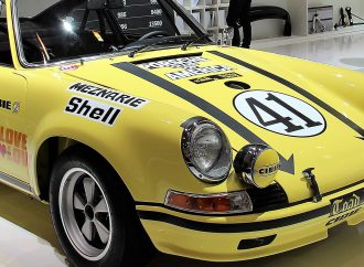 Prized 1972 Porsche 911 race car re-discovered, restored for display at Techno Classica in Germany