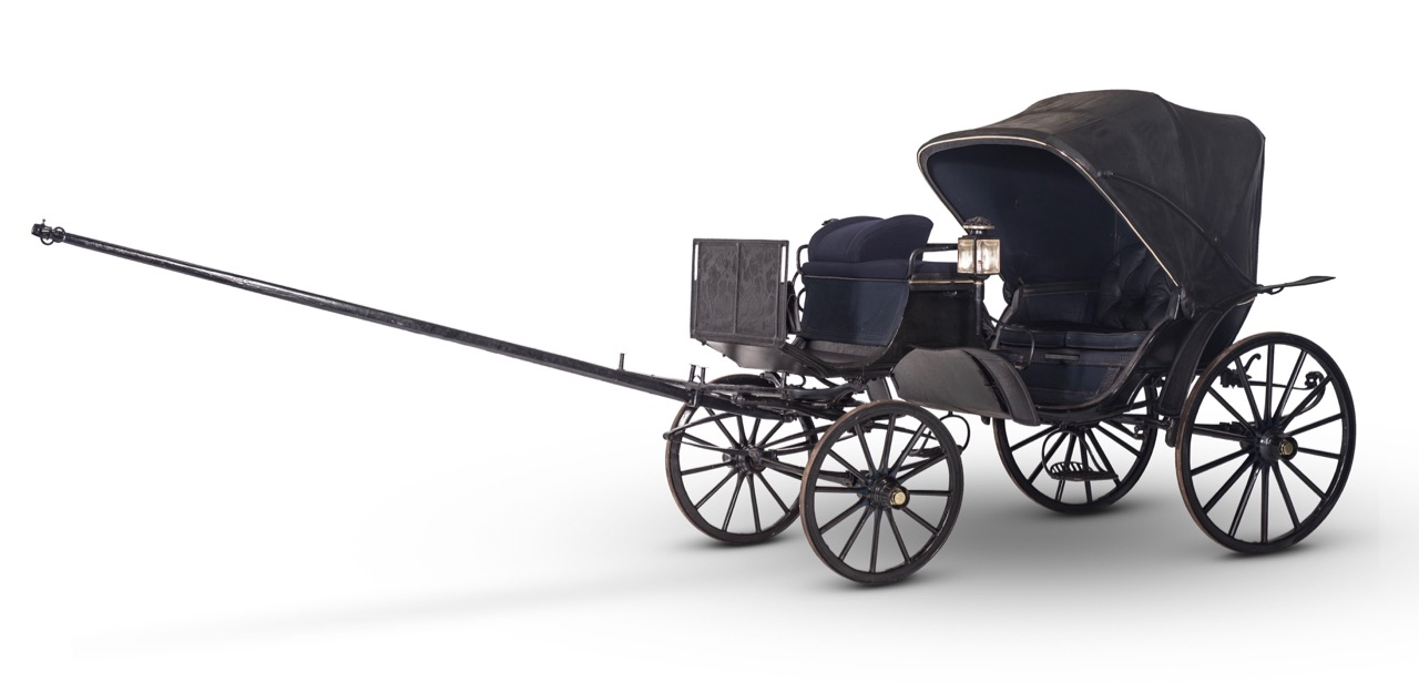 Horse-drawn carriage by Renault
