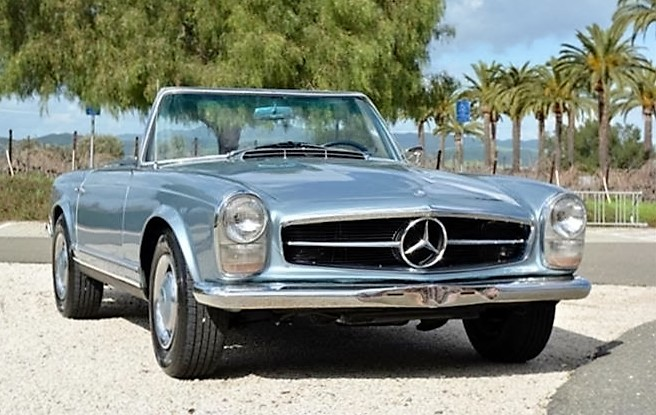 The Mercedes SL-Class cars make versatile and reliable all-around collector cars