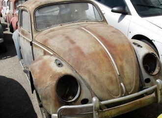 Iowa barn find of VW cars and parts coming to auction