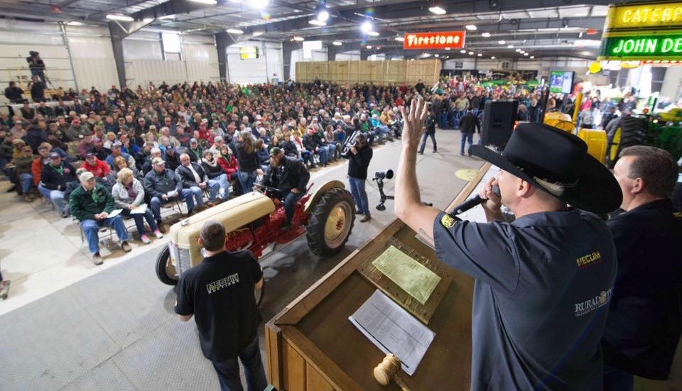 One of several hundred tractors crosses the block | Mecum Auctions Gone Farmin' photos