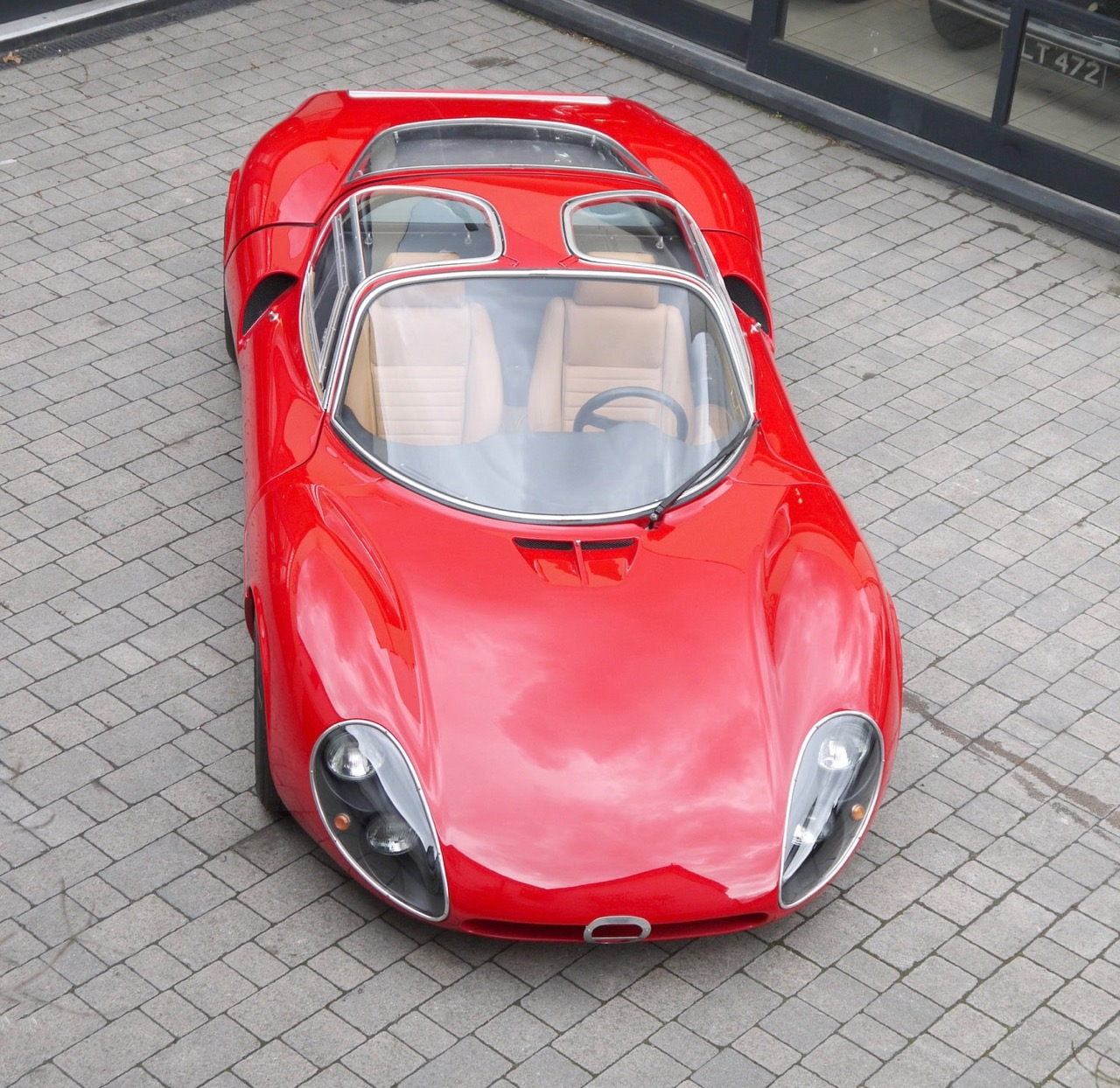 1967 Alfa Tipo 33 Stradale Continuation car | Coys photos