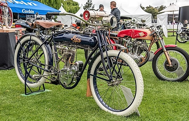 An antique Pope motorcycle at last year's Quail Gathering | Signature Events