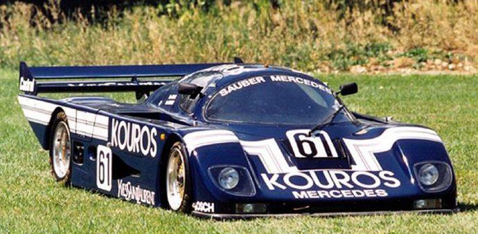 1986 Sauber C8 race car