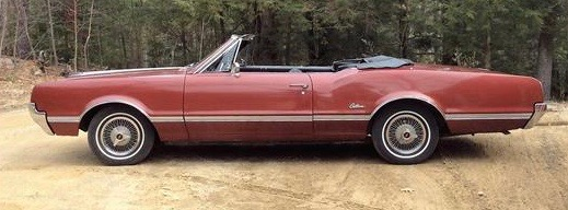 1966 Oldsmobile Cutlass convertible has 50-year, single-family ownership history