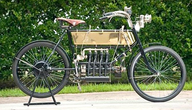 The FN was the world's first production four-cylinder motorcycle