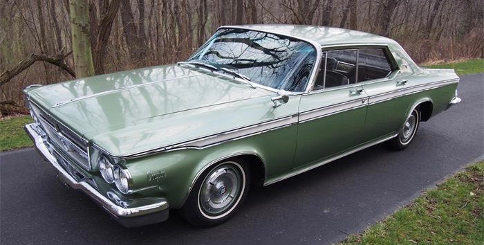 1964 Chrysler four-door hardtop