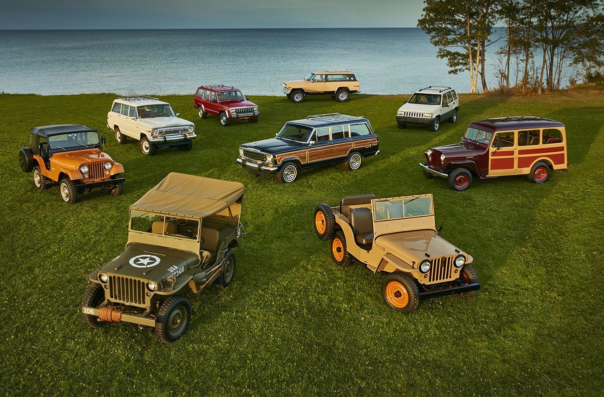Nine Jeeps selected to celebrate vehicle's 75th anniversary in Europe   Jeep Europe photo