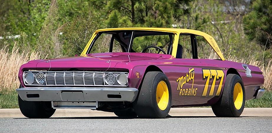 The 1964 Plymouth NASCAR racer from Ray Evernham was driven by country music star Marty Robbins | Motostalgia