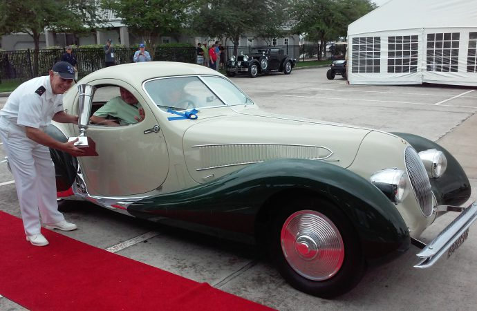 Talbot-Lago, Stutz earn Best of Show at Keels and Wheels