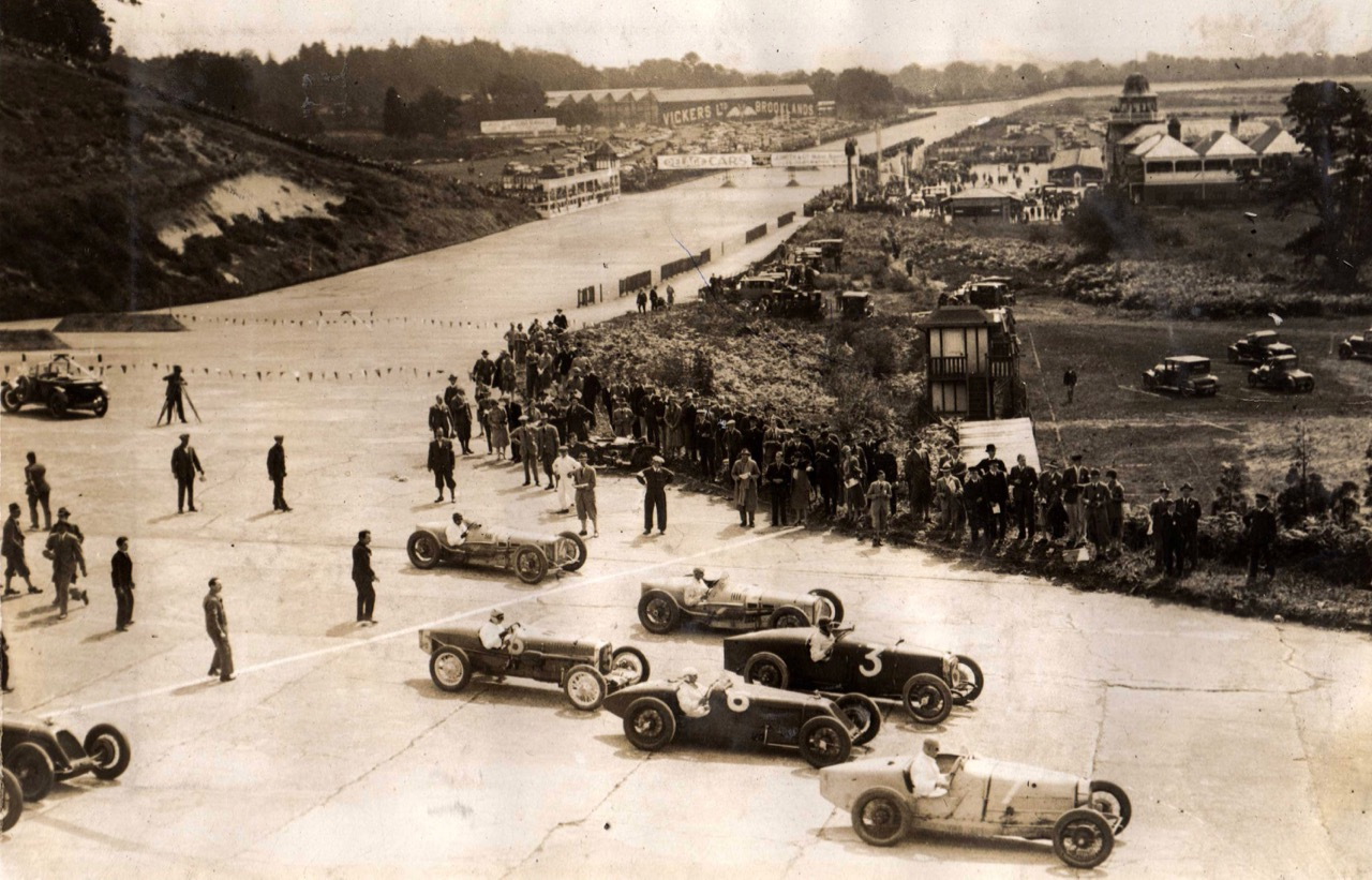 1926 British Grand Prix | photo courtesy Royal Automobile Club