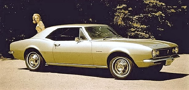 The first Camaro was used in early ad campaigns | Chevrolet archive