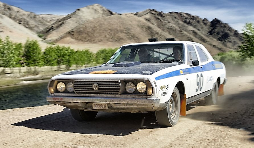The 1973 Leyland P76 races toward its 2013 Classic win | Endurance Rally Association