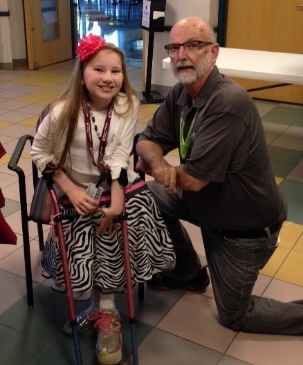 Emily and me at Shriners