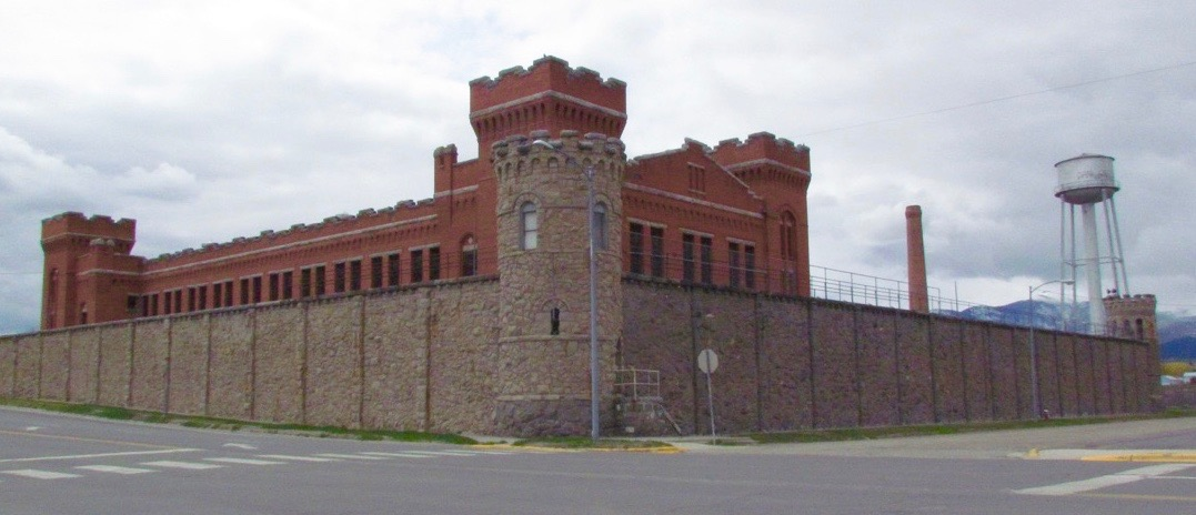 The old Montana State Prison at Deer Lodge