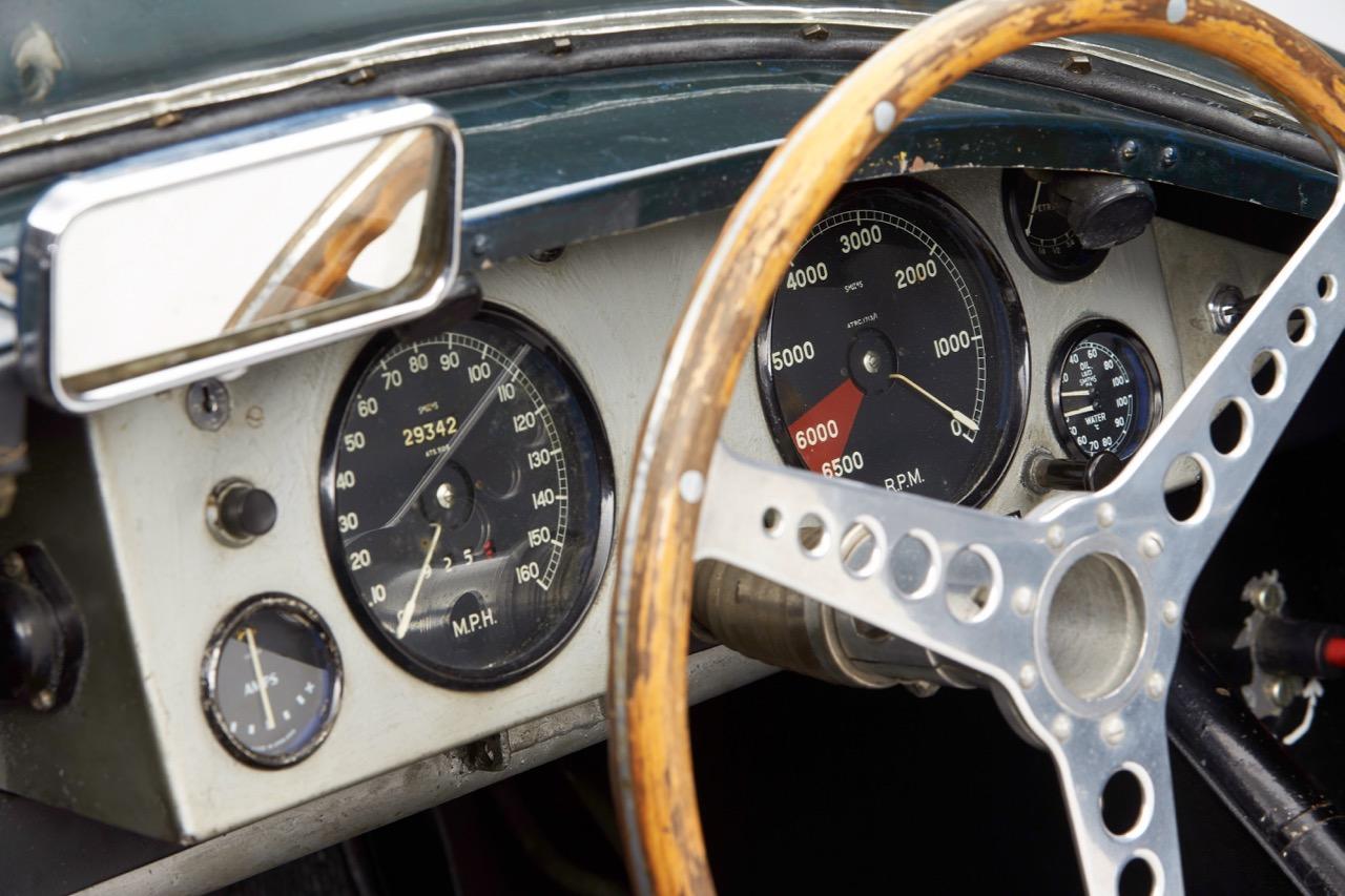Jaguar dash
