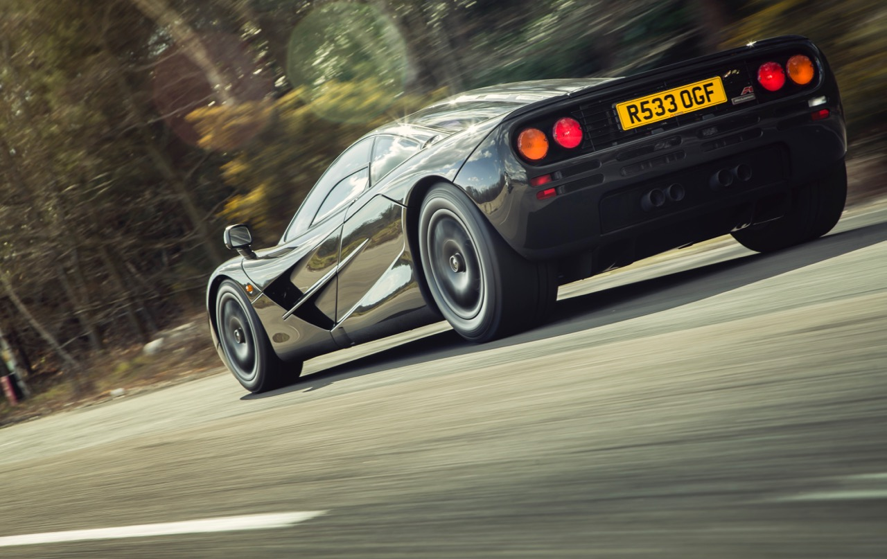 069 was one of the last McLaren F1s produced | McLaren Special Operations photos
