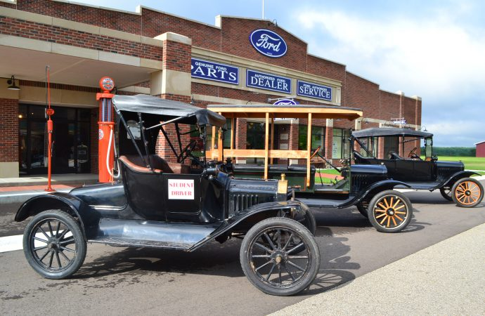 Gilmore, California, LeMay Marymount offer Model T driving classes