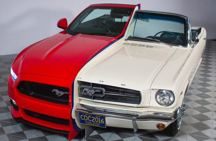 Fused Mustangs showcased at Inventors Hall of Fame Museum