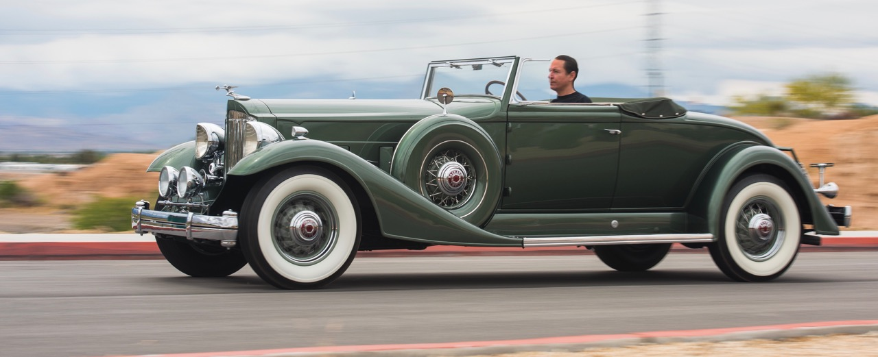 1933 Packard Twelve convertible coupe